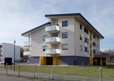 44 logements et un centre multi-accueil